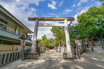 五條天神社(上野公園内)