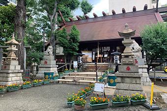 高円寺氷川神社/気象神社
