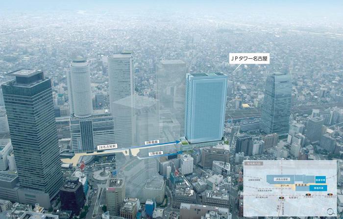 名古屋駅前で開発中の『JPタワー名古屋』