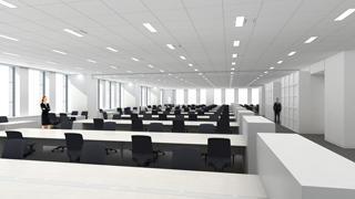 基準階 事務室使用イメージ