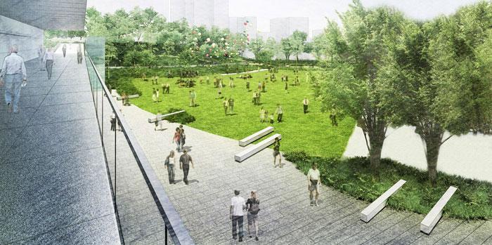公園・広場等完成予想図